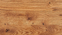 Solid knotty oak, oiled