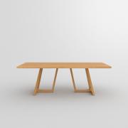 Designer Holztisch  MARGO Maßgefertigt in Eiche massiv, geölt von vitamin design