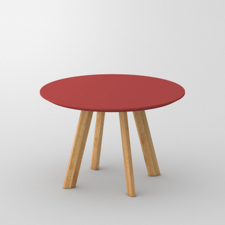 TABLE RHOMBI ROUND LINO