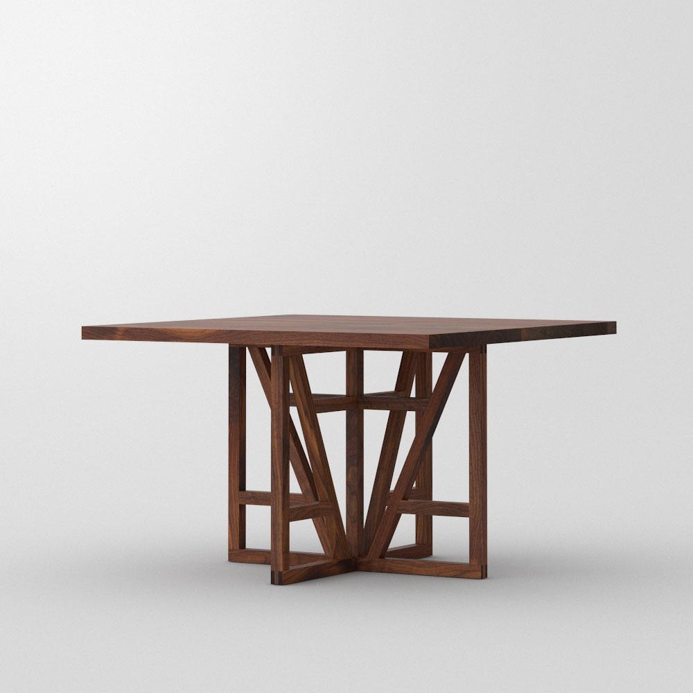 Designtisch quadratisch fachwerk square vitamin design for Tisch go vitamin design