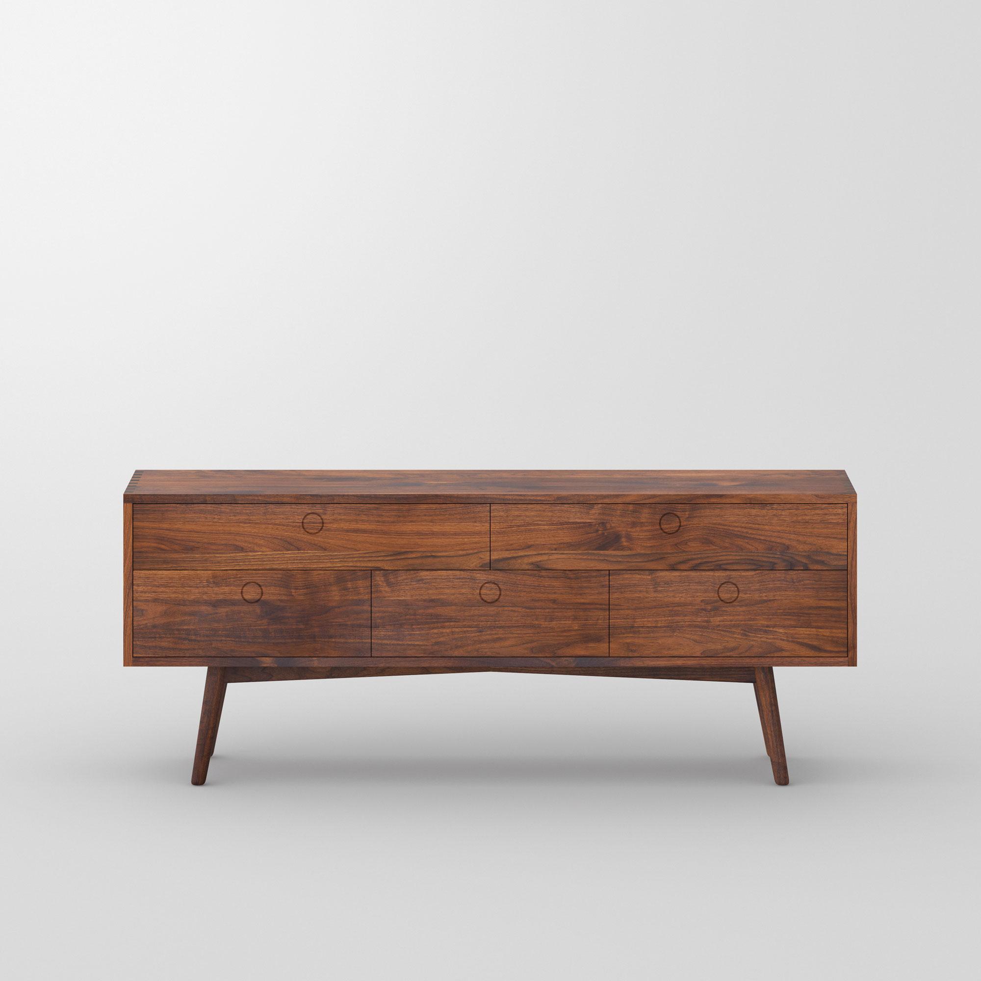 Holz Designerkommode AMBIO Maßgefertigt aus Massivholz von vitamin design