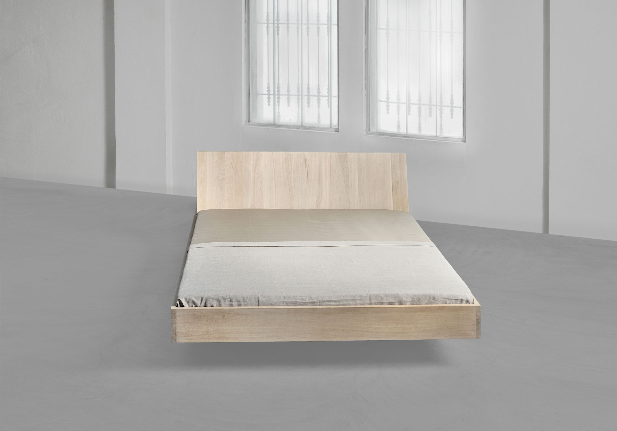 Design Solid Wood Bed SOMNIA custom made in solid wood by MODUM