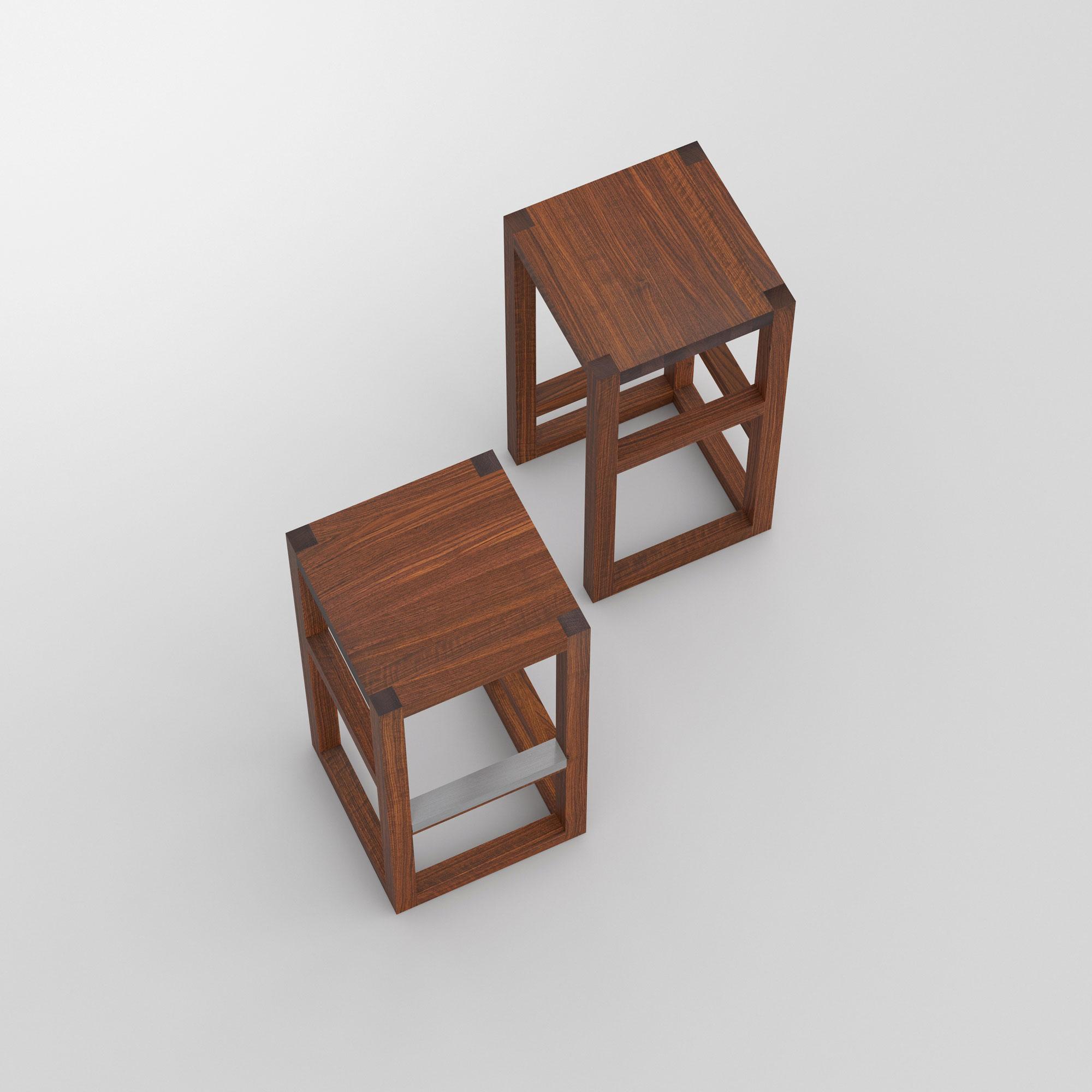 Bar Stool Solid Wood Step Vitamin Design