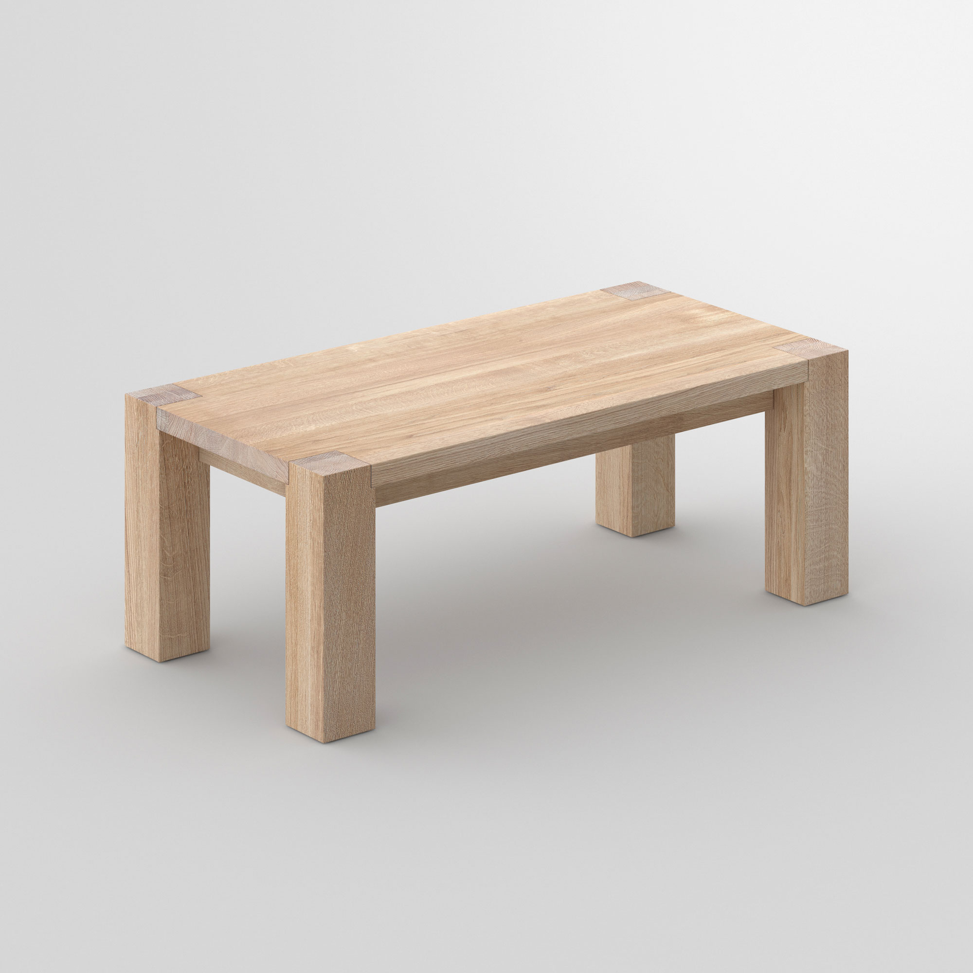 Rustic Oak Coffee Table TAURUS 4 B11X11