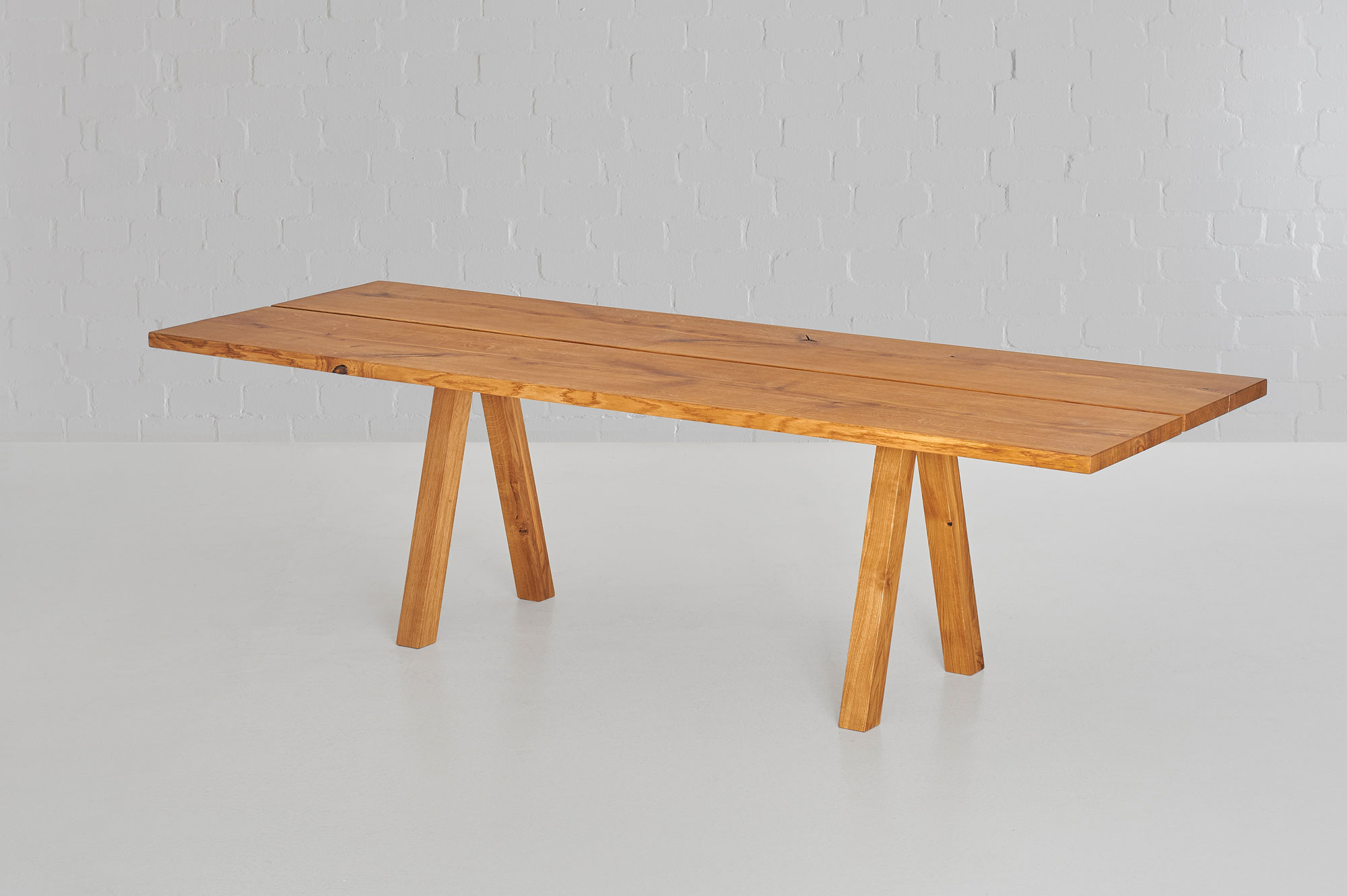 Designer Tree Trunk Table PAPILIO custom made in solid wood by MODUM