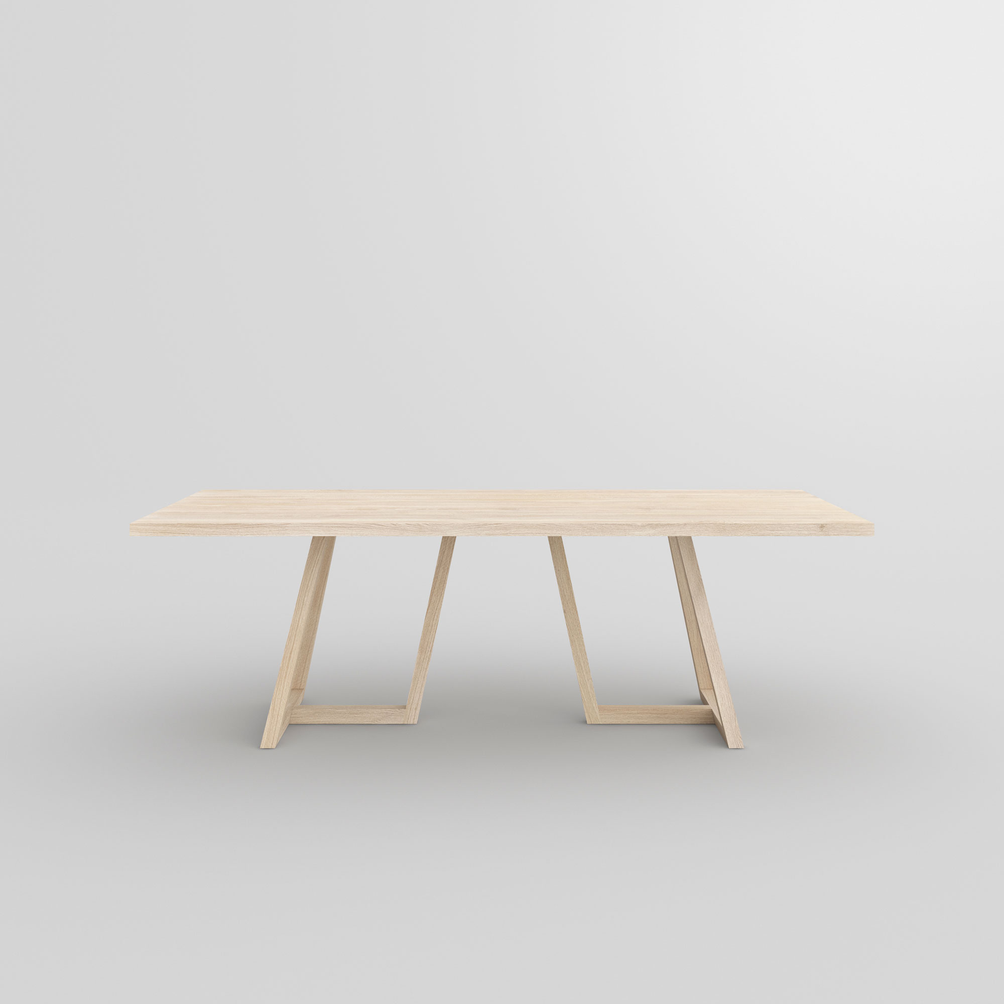 Designer Solid Wood Table MARGO custom made in solid wood by MODUM