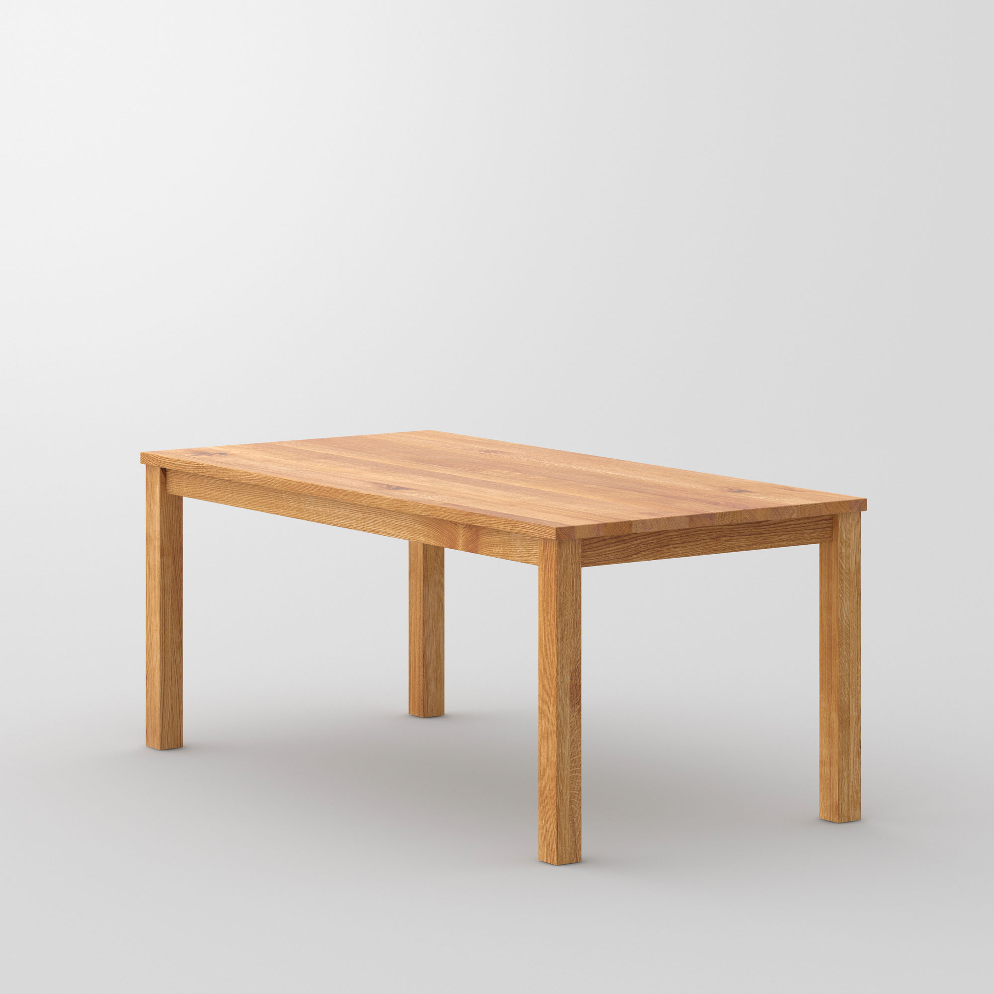Custom made solid wood table forte vitamin design for Table 180 x 85