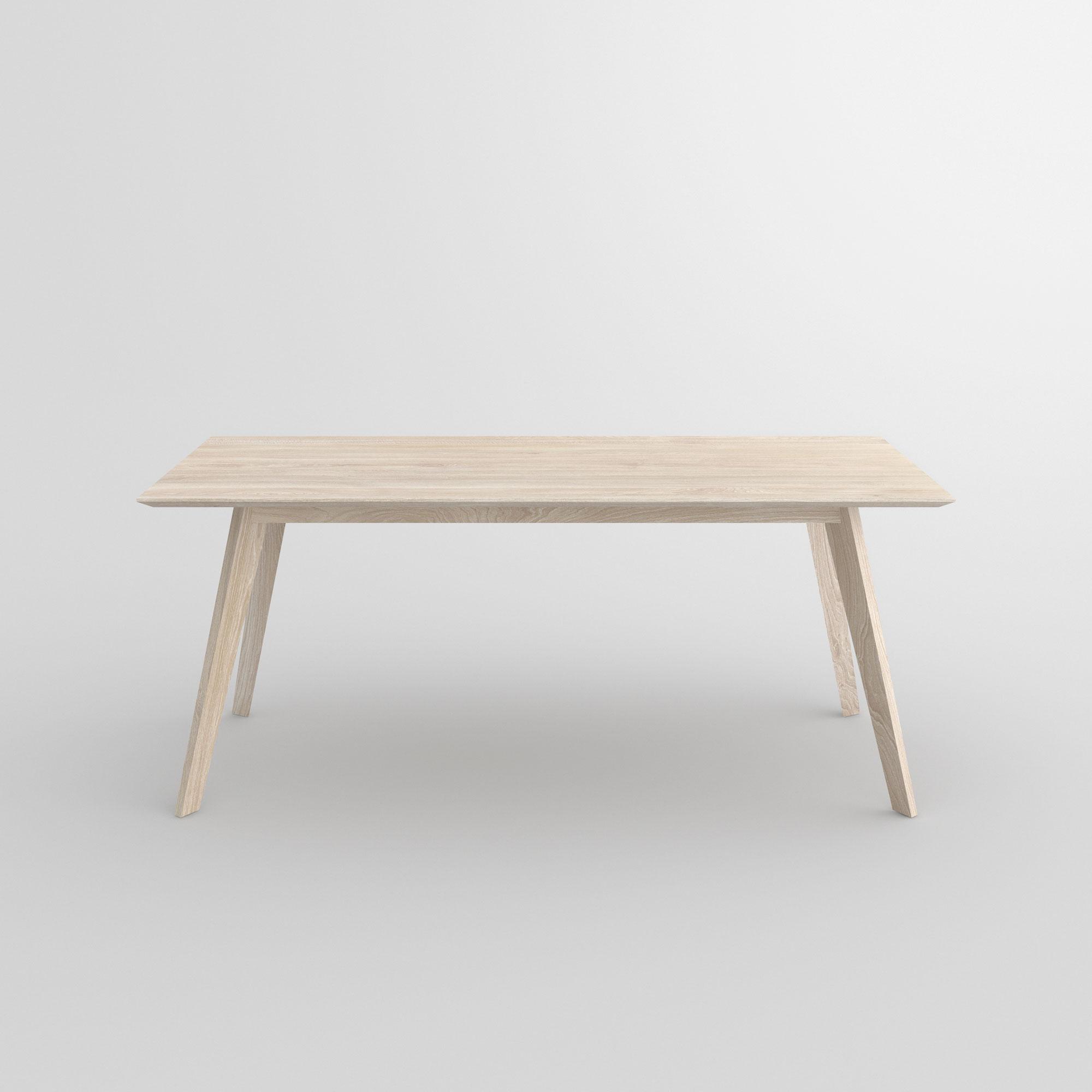 Filigraner massivholz esstisch citius vitamin design for Tisch lungo vitamin design